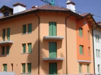 Condominio Meridiana in fase di costruzione a Tolmezzo (Ud)