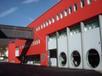 """Centro Direzionale di Tolmezzo (Ud) - Blocco """"D"""" - Scorcio prospetto ovest"""