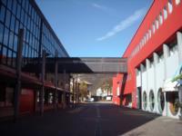 """Centro Direzionale di Tolmezzo (Ud) - Blocco """"D"""" (a destra) e Blocco """"C"""""""