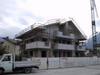 Condominio Aldo Moro in fase di costruzione a Tolmezzo (Ud)
