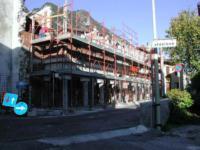 Fase dei lavori di ristrutturazione della sede del Municipio di Amaro (Ud)